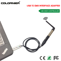 Free Shipping 2017 NEW Mini USB To DMX 512 Interface Adapter For Professional Stage Effect Light