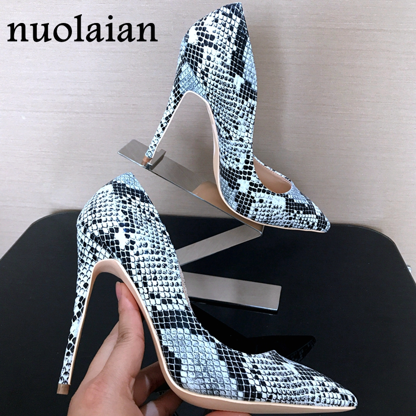 8cm/10cm/12cm Sexy Women Pumps Pointed Toe shoes Brand Thin High Heels Wedding Shoes Pumps Heel Woman Party Shoes brand shoes woman high heels women pumps pointed toe wedding shoes 10cm metal heel women shoes high heels pumps shoes b 0113 page 9