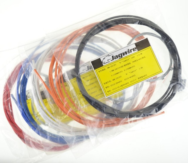Jagwire Mtb Road Bike Bicycle Housing Cable Hose Sets Kit