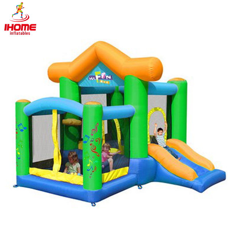 IHOME New arrival Free shipping Child inflatable trampoline naughty fort household slide ocean pool combination big trampoline