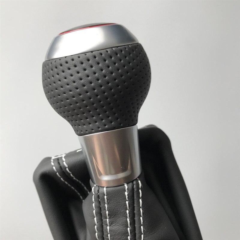 Автоматическая рукоятка для рычага переключения передач рукоятка рычага головка для Audi A3 S3 RS3 Q3 S6 RS6 A4 A5 A7 Passat Golf 6 7 Гольф 6GTI 7GTI Golf R CC