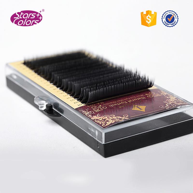 5 bandejas lot mix tamanho 7 para 15mm 20 linhas de alta qualidade de vison sintetico
