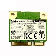 SSEA Großhandel Neue für Azurewave AW-CB161N Drahtlose Realtek RTL8821AE 802.11a/b/g/n/ac 2,4/ 5,0 ghz WiFi Bluetooth 4,0 Karte