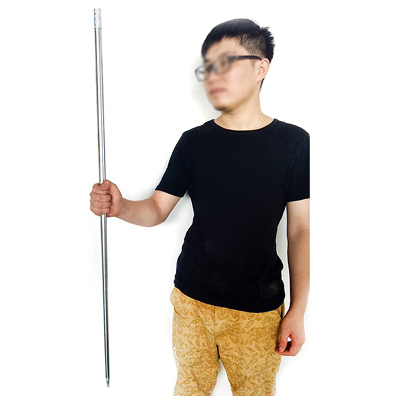 Outdoor Tools Persevering 5cm To 120cm Self-defense Products Pure Steel Crowbar Telescopic Stick Protection Car Titanium Alloy Steel Rod Magic Toy To Produce An Effect Toward Clear Vision
