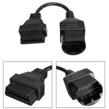 Adaptador de Cable de diagnóstico OBD2, 17pin a 16 Pines, escáner de código para Mazda /Ford /Ranger