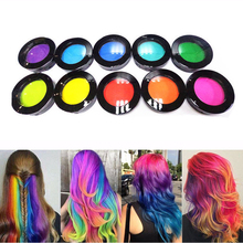 8 colors Disposable hair Color Wax Dye one-time molding paste Sliver Grandma Green Hair