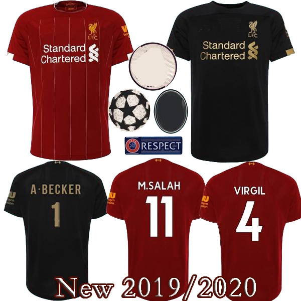new style f02ee 07fd4 19 20 new arrive Liverpool soccer Jersey M.SALAH MANE Home soccer shirt  2020 Liverpool jersey shirt ...