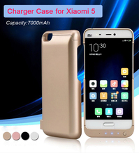 Charger Case for Xiaomi 5 Mi5 / Xiaomi Mi5 Pro Prime/Mi5 Pro External Battery Portable Type C Power Bank Case External Battery