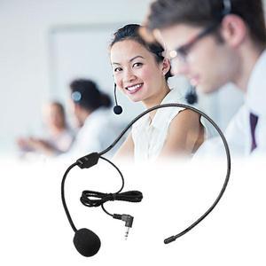 3,5 мм проводной микрофон с головным убором микрофон Микрофон для голосового усилителя Динамик Громкий динамик для лекции обучающая конфере...