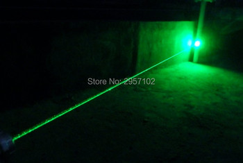 Promotion Military Green laser pointer 500000m 50W 532nm Flashlight Burning Match/pop balloon/Burn cigarettes+Free Glasses+Gift