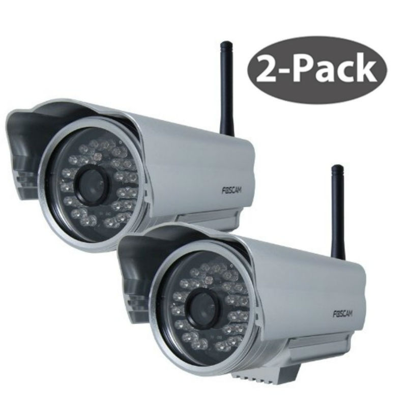 foscam fi8904w 2 pack wireless outdoor ip camera cctv camera baby monitor a. Black Bedroom Furniture Sets. Home Design Ideas