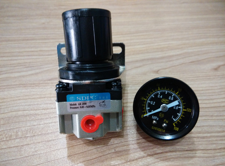 SDPC pneumatic components gas treatment valve AR2000 AR3000 AR4000 pressure regulating valve sdpc pneumatic components two five way
