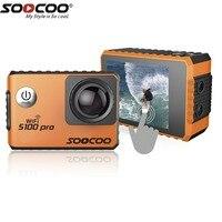 SOOCOO Голосовое управление S100Pro Водонепроницаемая экшн камера Wifi 4 K HD 2,0 сенсорный экран Спортивная камера с микрофоном gps расширение