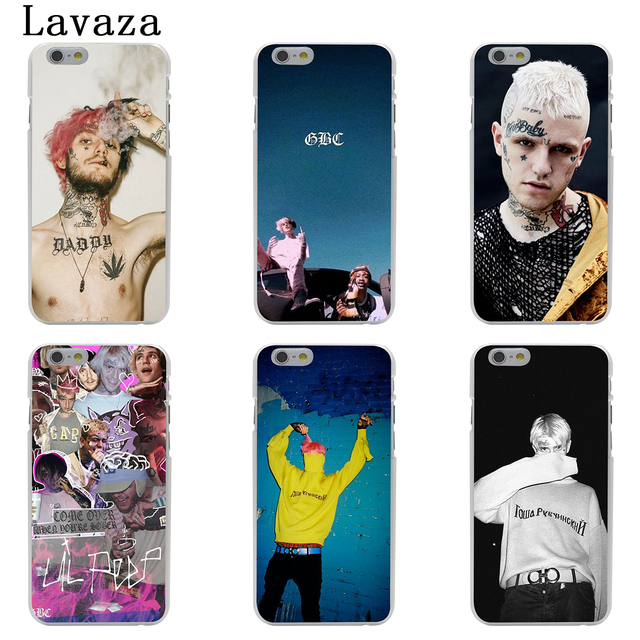 Lavaza Lil Peep Lil Bo Peep Hard Phone Case for Apple iPhone 6 6s 7 8 Plus 4 4S 5 5S SE 5C Cover for iPhone XS Max XR Cases