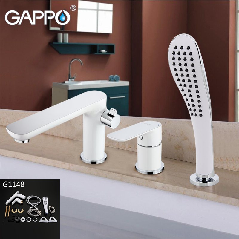 gappo bathtub faucet bath shower faucet waterfall wall shower bath set bathroom shower tap bath mixer torneira grifo ducha Gappo Top Quality waterfall bathtub sink faucet water mixer bathroom shower faucet bath shower set taps torneira grifo GA1148