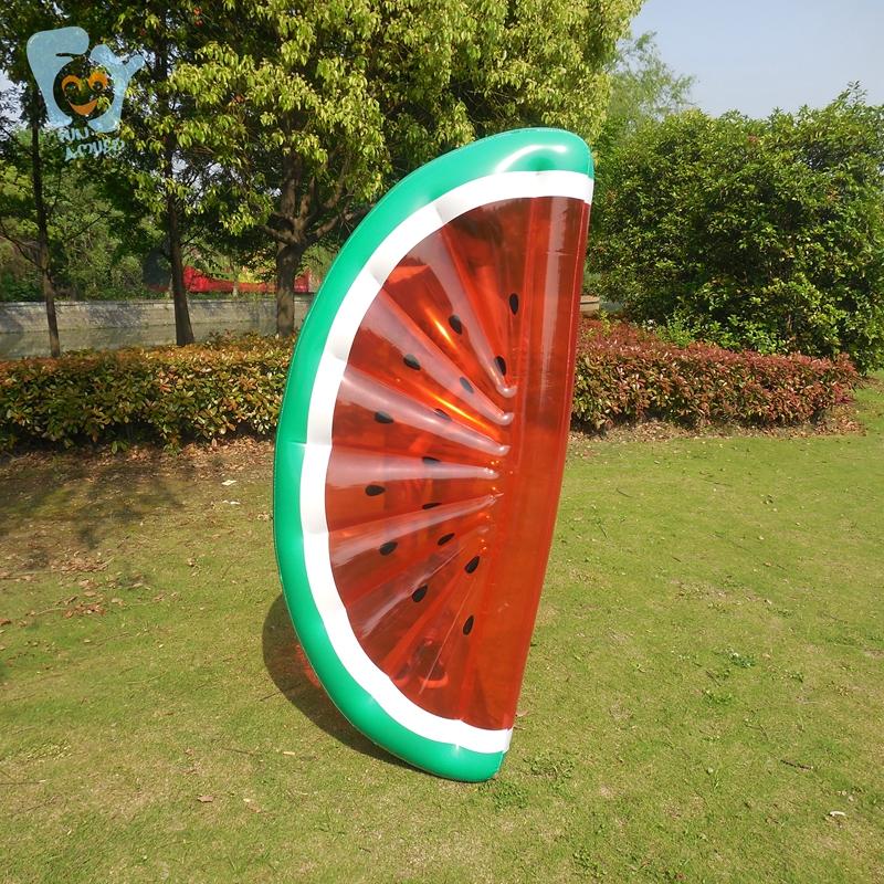 Inflatable Fruit Floats Half Watermelon Pool Float ...