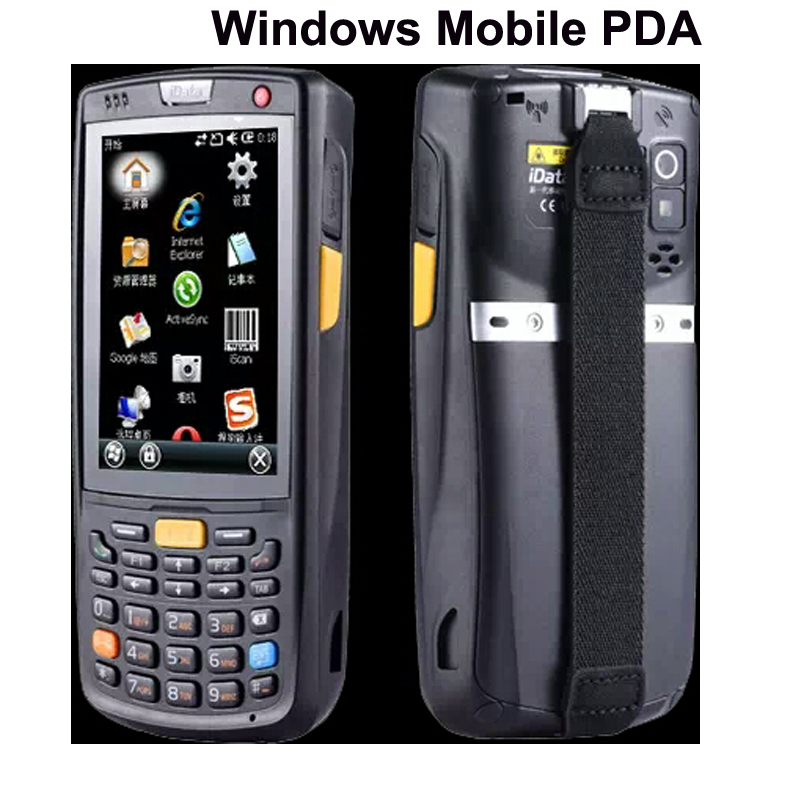 Us 399 0 Free Shipping Rugged Windows Mobile 6 5 Handheld Wireless Pda For 1d 2d Pos Intelligent Inventory Wms Data Terminal Wifi Bt Ip65 In
