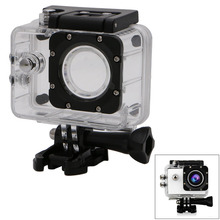 Waterproof Case Underwater Diving Sports Box Camera Accessories For SJCAM SJ4000