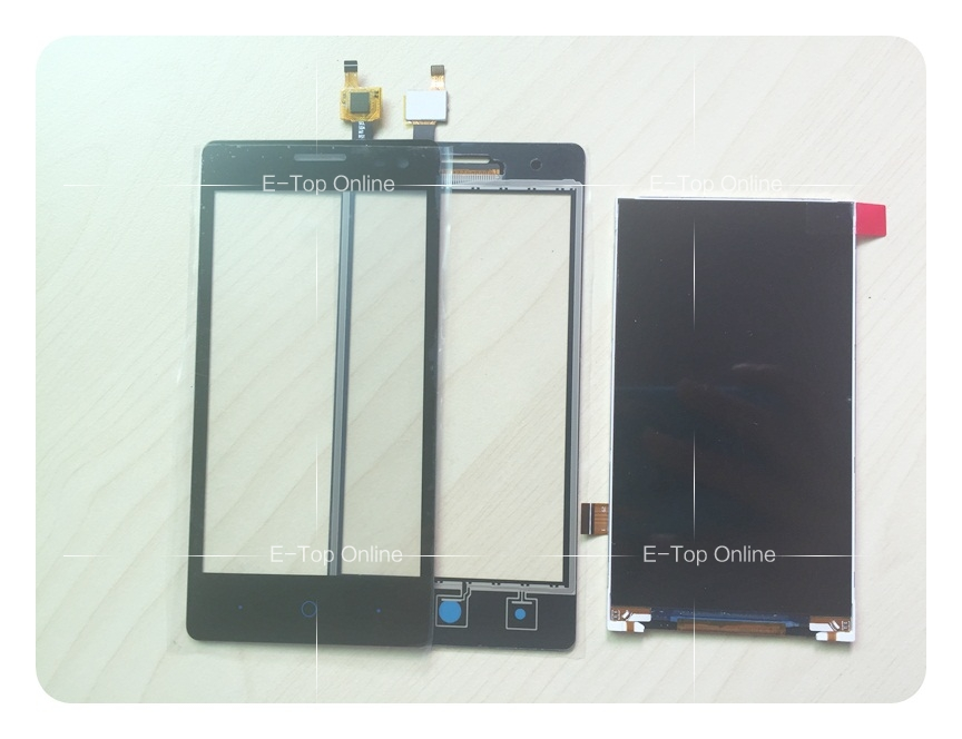 Black touch Screen For ZTE Blade GF3 LCD Display Screen Touch Sensor Screen Digitizer Replacement LCD Screen + tracking for zte blade a610 lcd display touch screen 100