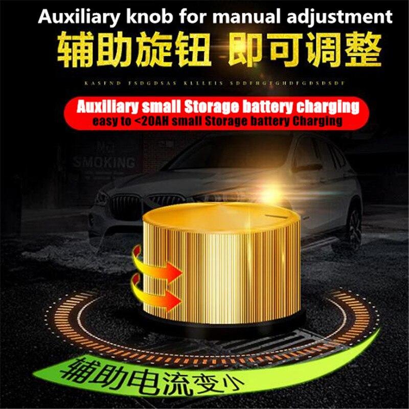 600W 25A Smart Automatische 12 V/24 V Auto Lagerung Batterie Ladegerät LCD 5 bühne Intelligente Puls reparatur für Blei Säure Batterie 36 400AH - 5
