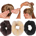 New Fashion Hair Elegant Style Former Maker Donut Curler Round Hair Rollers Sponge Hair Curler Curling Hairstyle Styling Tools
