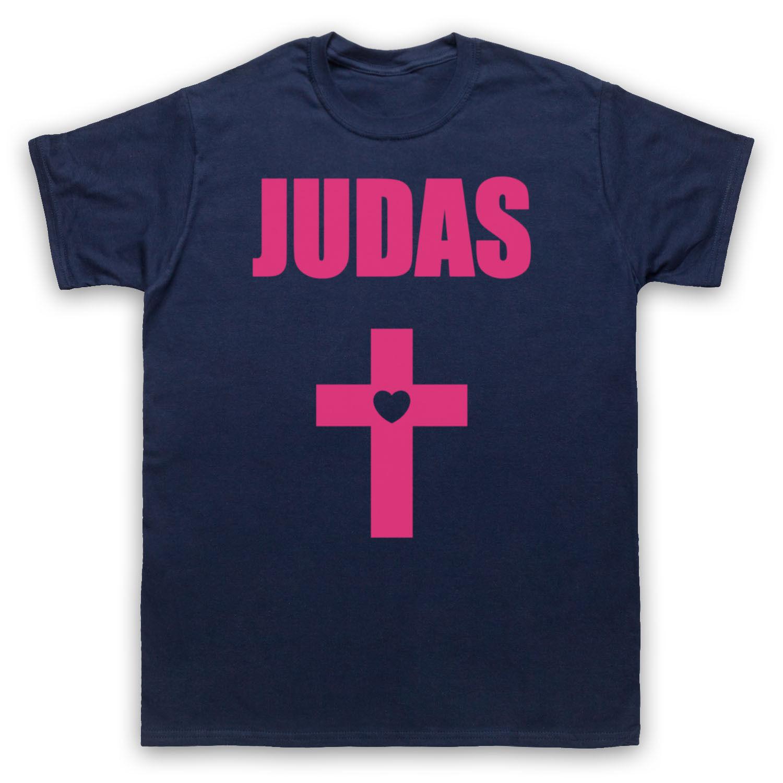 JUDAS HEART CROSS LADY GAGA UNOFFICIAL POP STAR ICON T-SHIRT ADULTS & KIDS SIZES