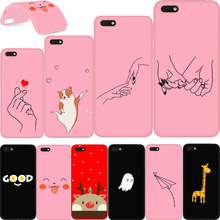 Honor 7A Case For Huawei DUA-L22 5.45 Silicone Soft TPU Back Cover Russian a7 7 a