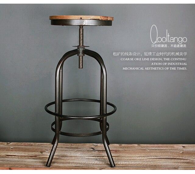Desván clásico salvaje era industrial muebles banco de madera ...