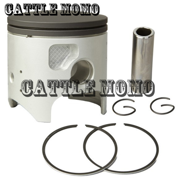 Motorcycle Engine Parts Std Cylinder Bore Size 66 4mm: Motorcycle Piston & Piston Ring Bore Size 66mm STD Piston