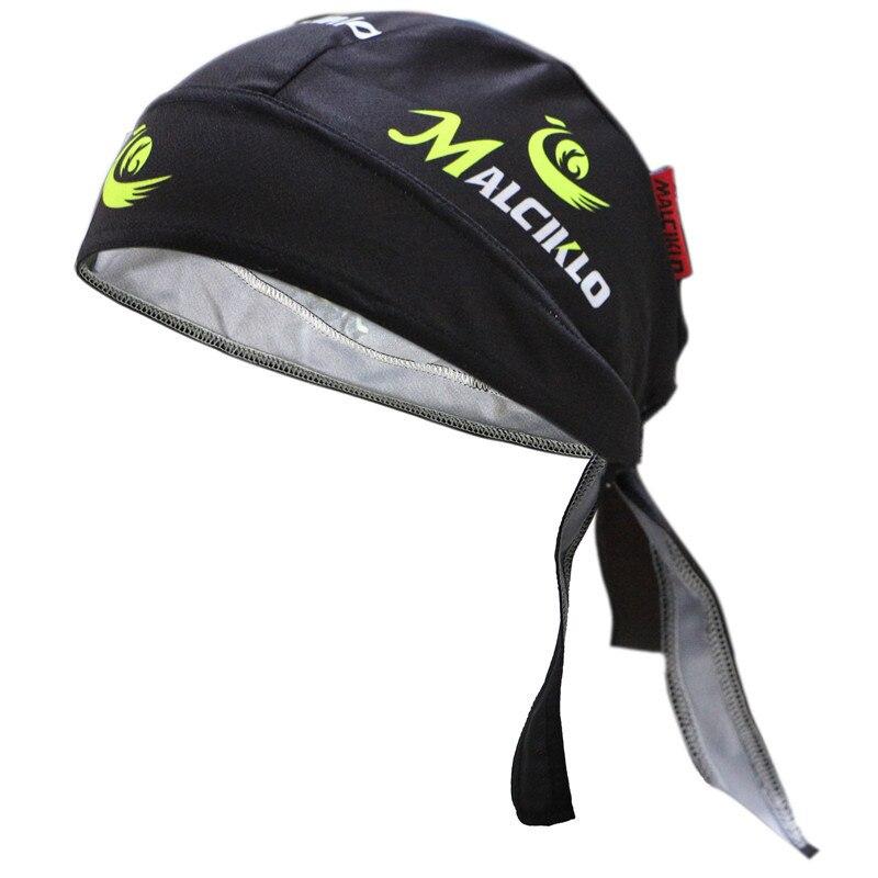 Homme séchage rapide Ciclismo Pirate casquette vtt équitation foulard femmes plein air Sport Cycle Bandanas course bandeau Anti Sweat chapeau écharpe