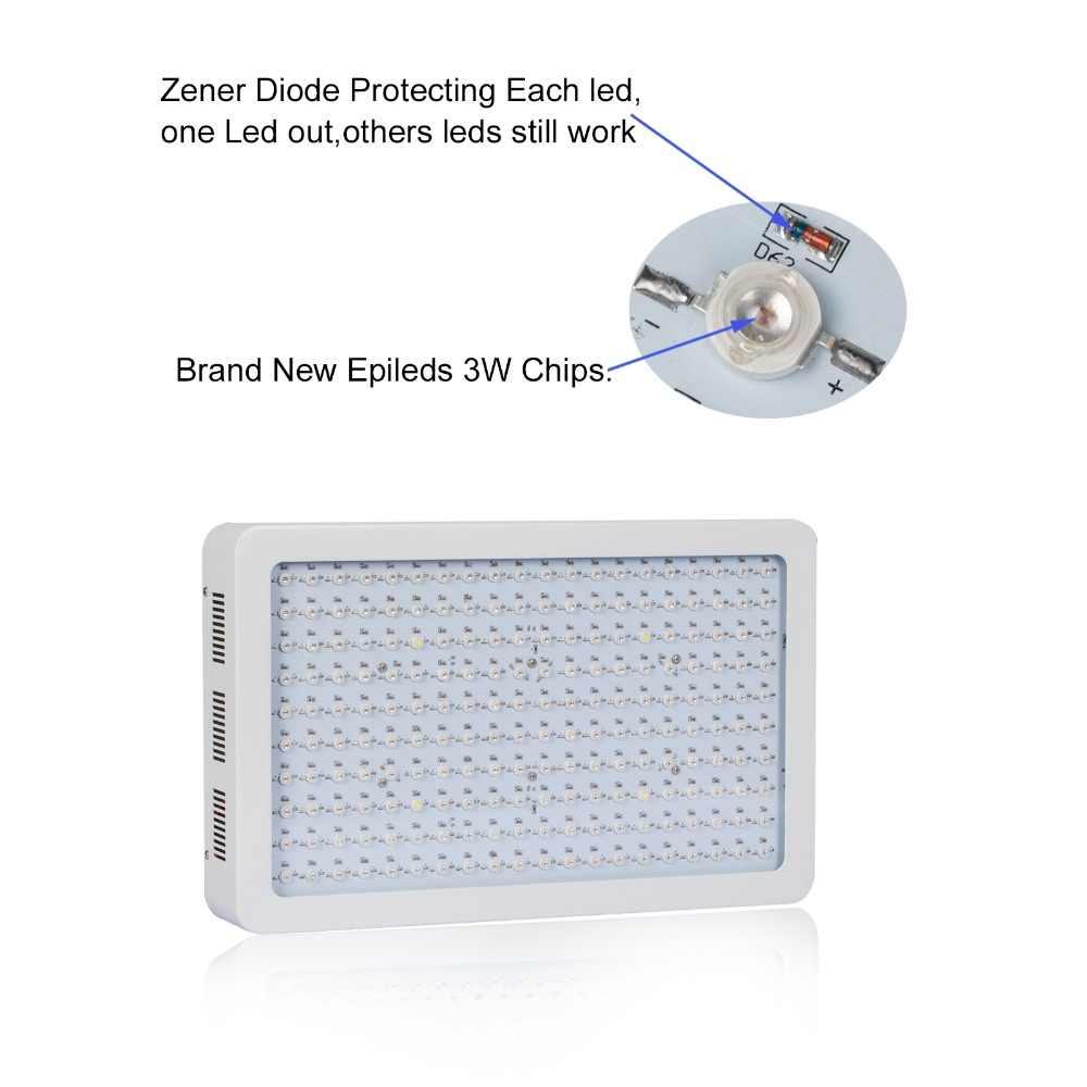 La puissance élevée 600 w LED élèvent le spectre complet de kit léger pour les plantes hydroponiques d'intérieur de serre