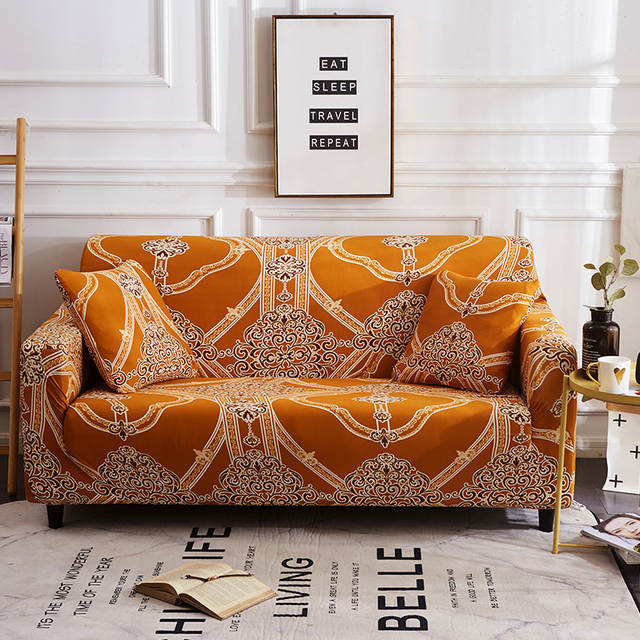 US $17.99 36% OFF Retro Decor Large Elastic Comfortable Sofa Furniture Set  Washable Modern Luxury Flower Sofa Cover Sofa Covers for Living Room-in ...