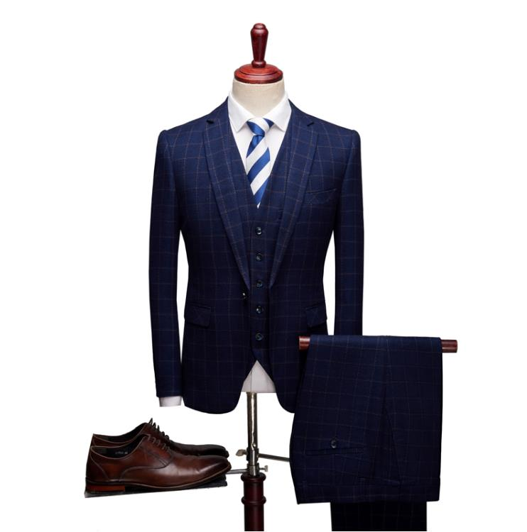 Пиджак, брюки, костюмы, костюм, бизнес 2019, мужские Модные Классические мужские деловые свадебные мужские платья, строгий костюм