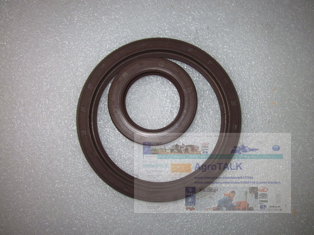 Fengshou FS180 184 with engine J285T (IL212I-CAA), the front and real oil seal of crankshaft, part number: