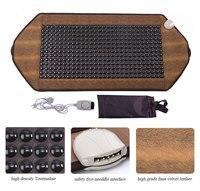 Tourmaline Physiotherapy Massage Pad Germanium Stone Electric Full Body Back Neck Knee Pad Heating Sofa Cushion Mattress