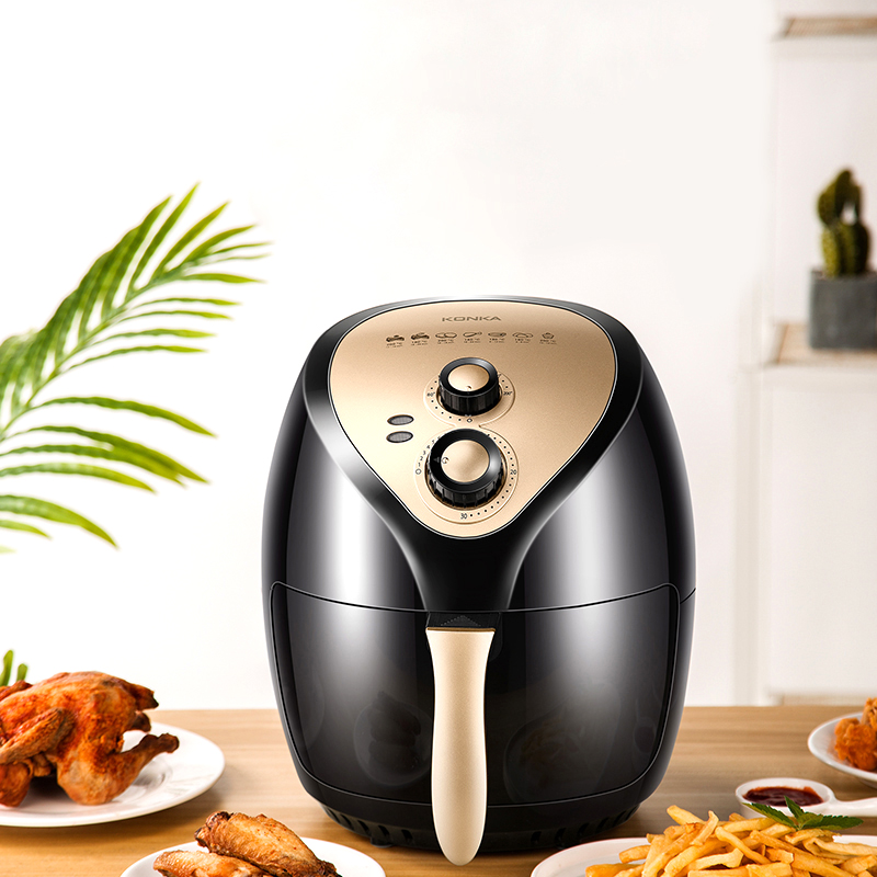 220V 3.5L Air Fryer Household Oil Free Fumes High Capacity Food Electric Fryer French Fries Machine Potato Chip Airfryer Oven