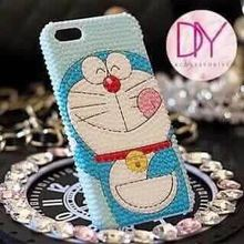 High Quality bling Doraemon phone custom case for for htc, lg, huawei Case