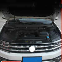 For Volkswagen TERAMONT 2016 2017 2018 High quality plastic engine compartment waterproof, dustproof, protective cover