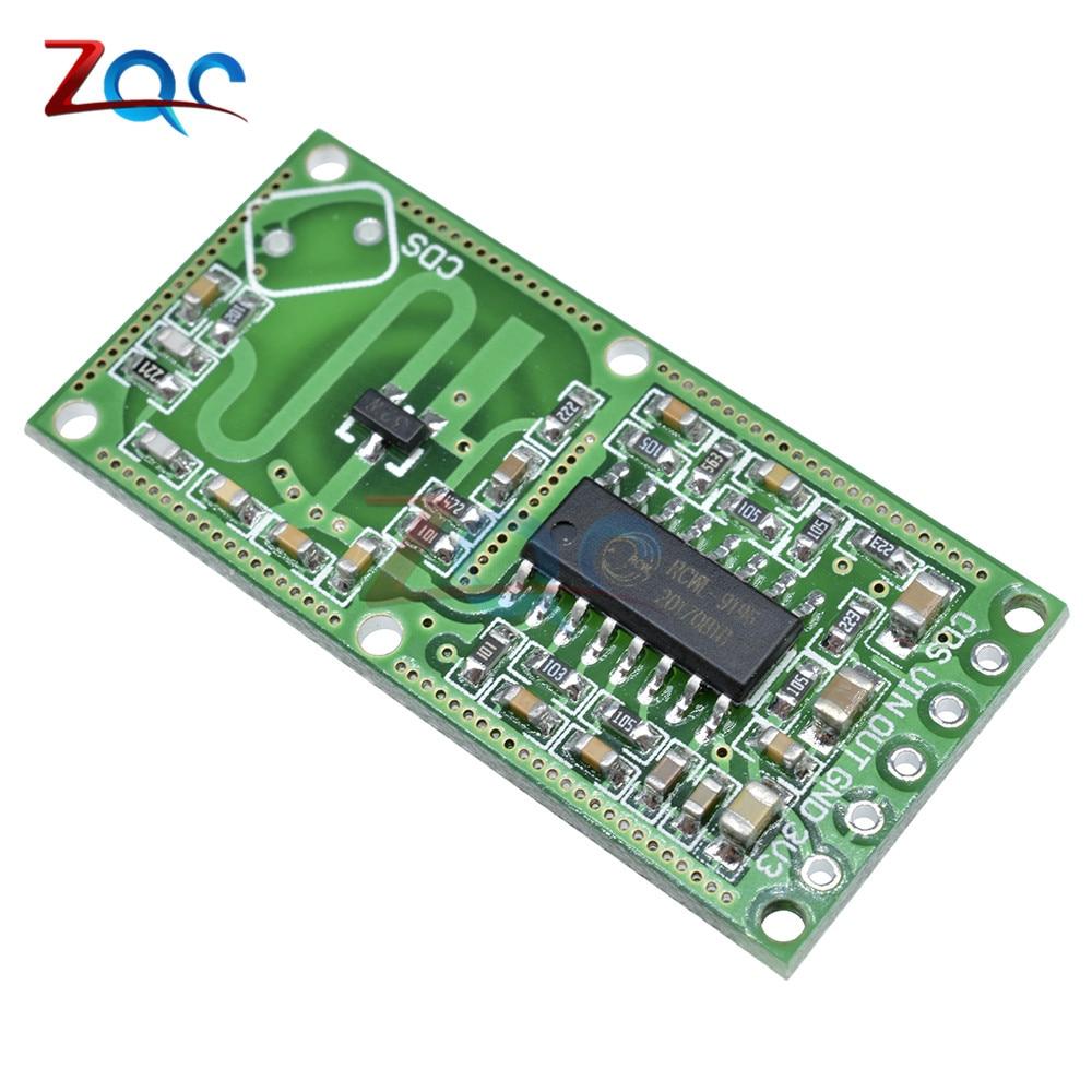 RCWL-0516 microwave radar sensor module Human body induction switch module Intelligent sensor produino tdl 5002 fbs4935 human body sensing module black
