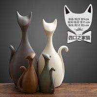 Northern Ceramics Ceramics Deer Gift Vintage Home Decor Wedding Decoration Accessories Kawaii Figurine Ceramic Crafts