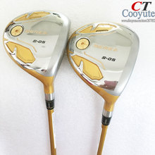 Cooyute New Golf Clubs HONMA S-05 4Star Golf Fairway Woods set and Graphite Golf shaft R or S flex wood headcover Free shipping oem quality datang dragon golf driver 917 woods f2 3 5 fairway woods with tourad tp6 stiff graphite shaft 2pcs golf clubs