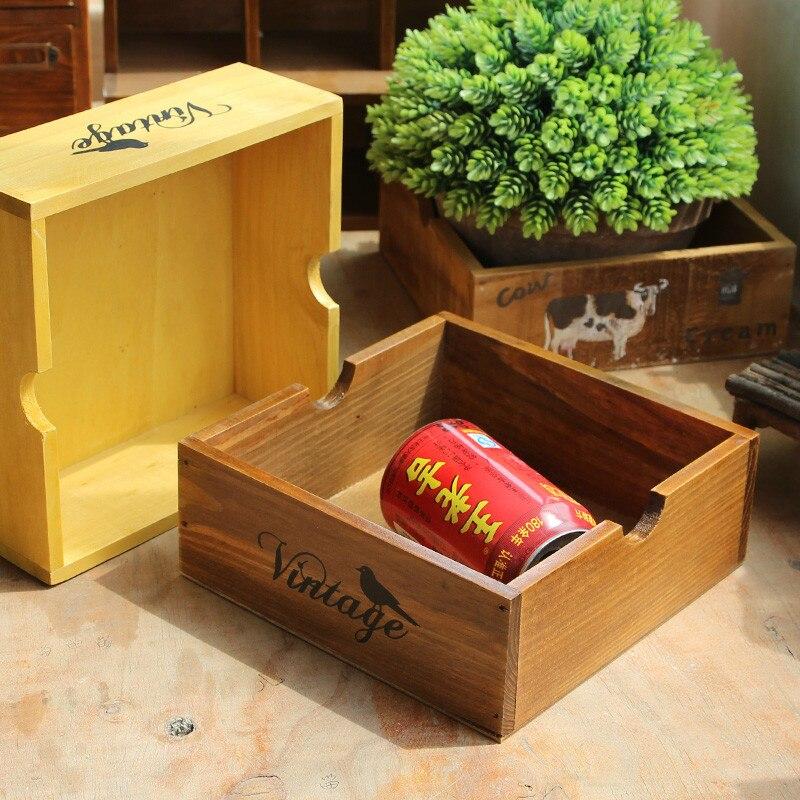 Z Retro Office Desk Wood Storage
