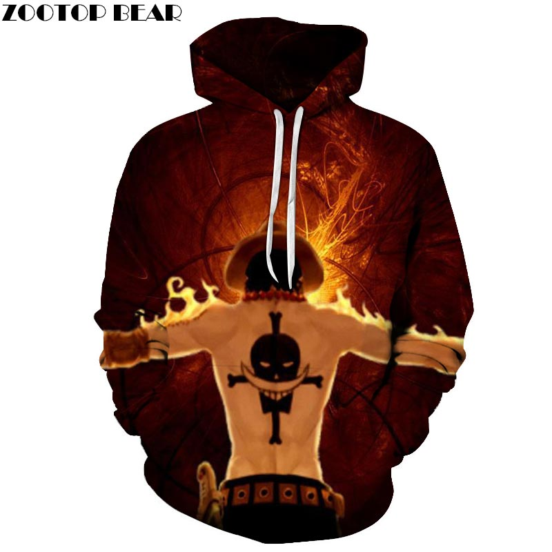 One Piece Show 3D Printed Hoodies Men Women Sweatshirts Hooded Tracksuits Pullover Streetwear Spring Coat ZOOTOP BEAR Drop Ship