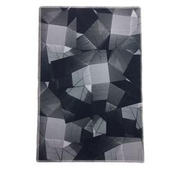 Druk geometryczny dywan nowoczesny wycieraczka dywaniki kuchenne czarny dywan mata do jogi dywan flanelowy dywan duży obszar dywaniki do salonu w Dywany od Dom i ogród na