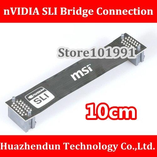 High Quality NVidia Card SLI Bridge PCI-E Graphics Connector 10CM Bridge Connection For Video Card