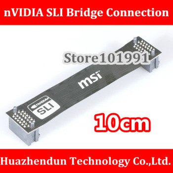 High Quality nVidia Card SLI Bridge PCI-E Graphics Connector 10CM Bridge connection for Video Card