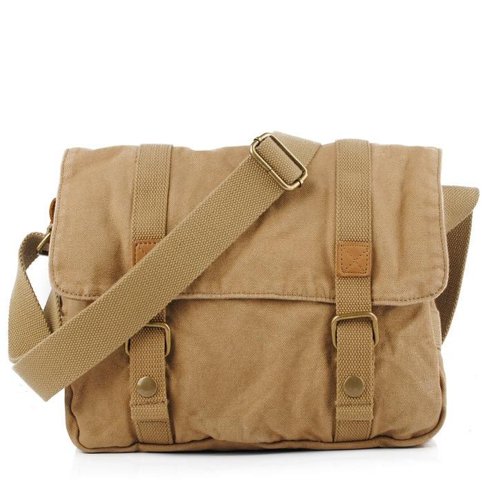 Men's Casual Canvas Bag Shoulder Leisure  Package Man Portable Leisure Bag Handbags Postman Men Bag