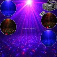 RGB 300Mw Laser 24 Patterns Projector Blue Full Stars Red Green Club Party Bar DJ Holiday