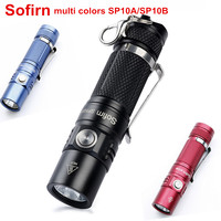 Sofirn SP10A SP10B Mini LED Flashlight AA 14500 Pocket Light Cree XPG2 573lm Keychain Light Waterproof