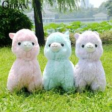 Hot Sale 35cm Rainbow Alpaca Plush Sheep Toy Japanese Soft Plush Alpacasso Baby 100% Plush Stuffed Animals Alpaca Gifts for kids
